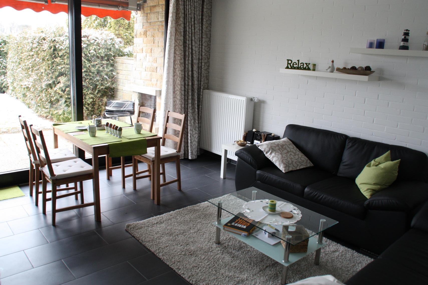Nordsee Ferienhaus - das Wohnzimmer