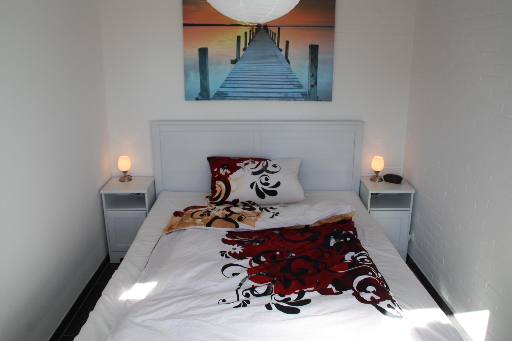 Nordsee Ferienhaus - Schlafzimmer